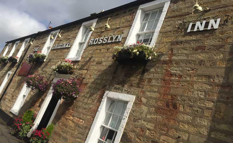 the original rosslyn inn hotel front
