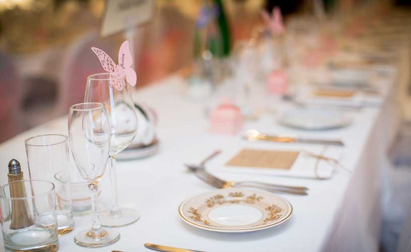 table layout the original rosslyn inn wedding event