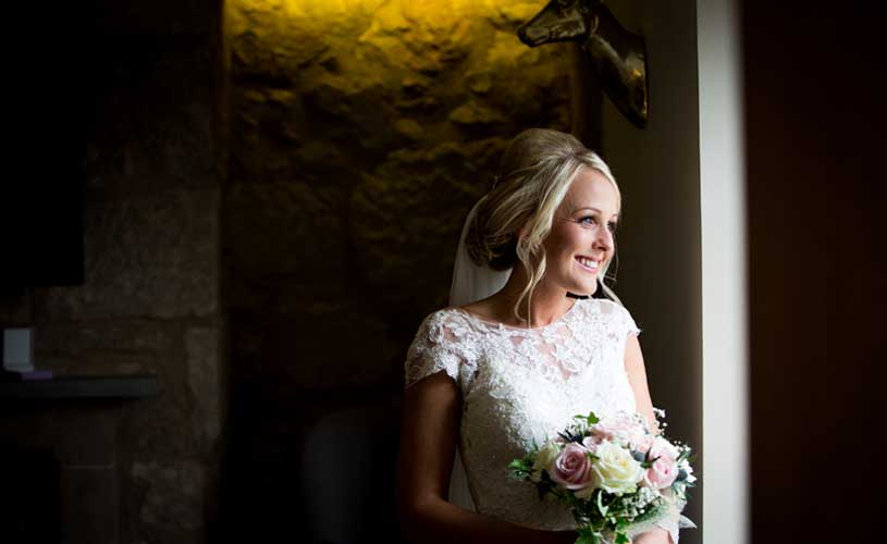 bride at the original rosslyn inn